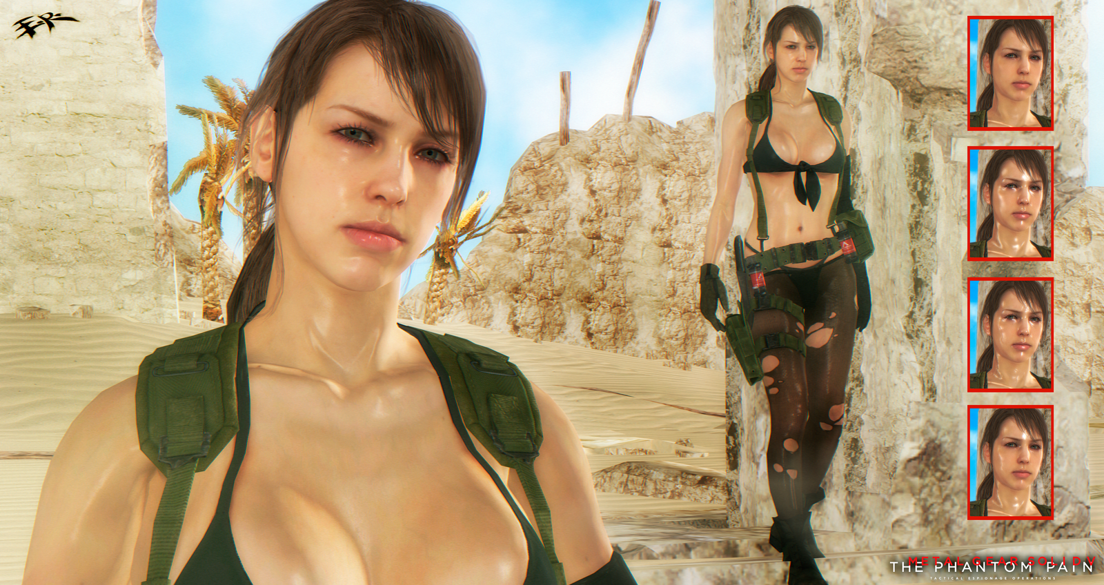 Metal Gear Solid V The Phantom Pain Quiet Updated By