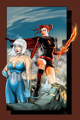 Commission: Fire and Ice