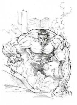 The Incredible Hulk Pencils