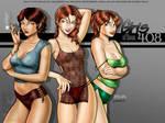 Girls of Room 408 Wallpaper