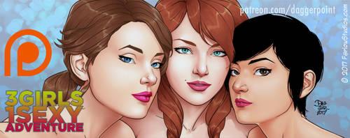 Three Girls One Sexy Adventure by DaggerPoint