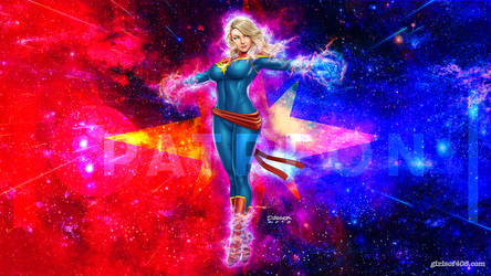 Girls of 408: Joey Cosplays Captain Marvel by DaggerPoint