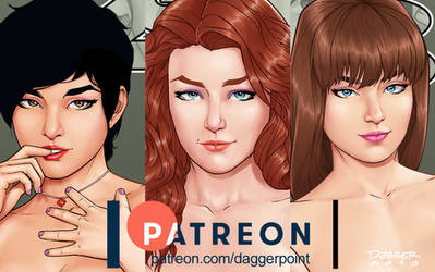 Girls of 408: New Posters + Wallpapers on Patreon by DaggerPoint