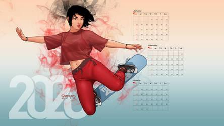 Girls of 408: Charlie 2020 Calendar