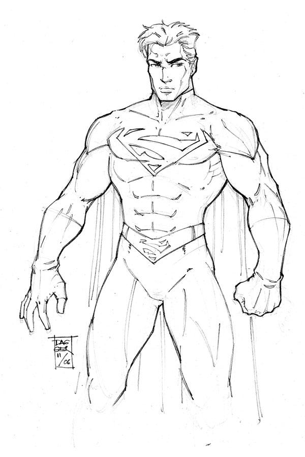 Pencil Work: Superman ...