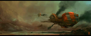 STEAMPUNK_SHIP_THING by donmalo