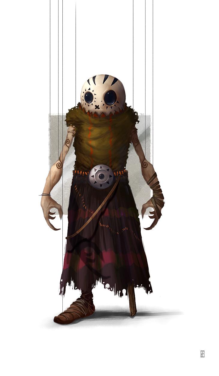 Marionetas y Cuerdas. Monzaemon. Puppet_07_by_donmalo-d56syiy