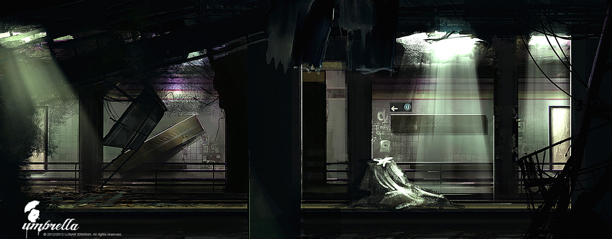 PROJECT_UMBRELLA_SUBWAY by donmalo