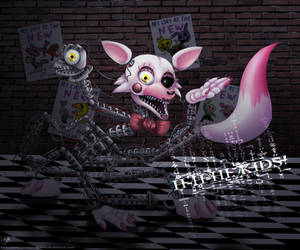 The Mangle by InkFire-RainbowPrism