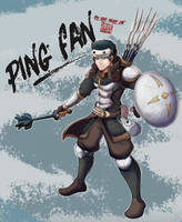 Dungeons and dragons: Pingfan by BrineSheep