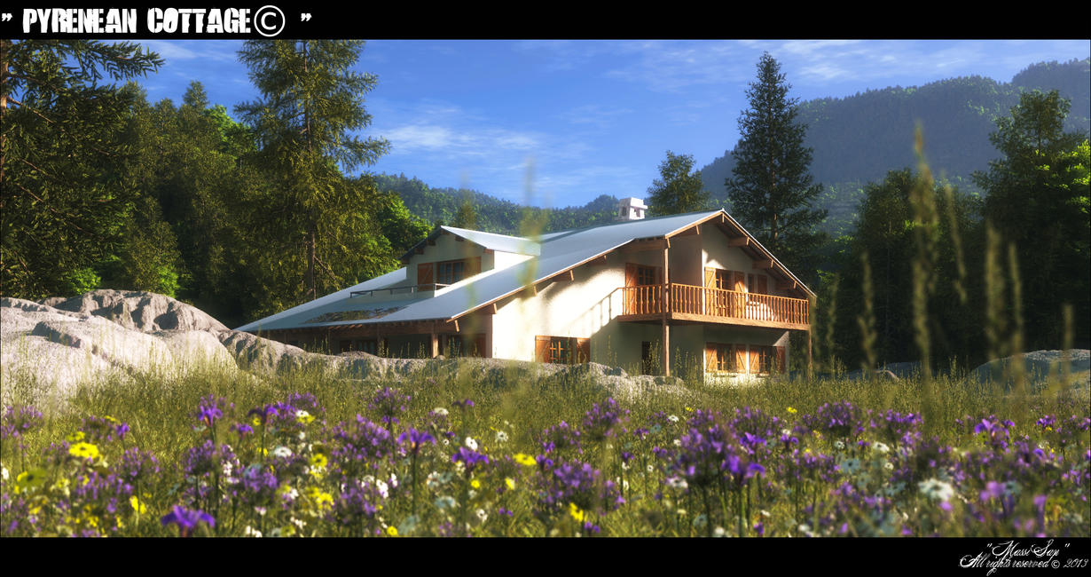 Pyrenean Cottage© by Massi-San