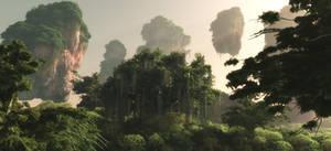 Avatar Fan Film Trees Test 1 by Massi-San