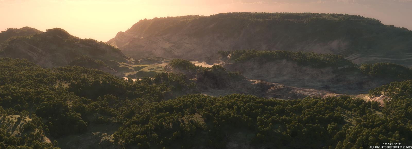 Procedural Landscape© by Massi-San
