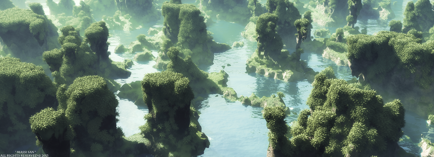 Voxelscape by Massi-San