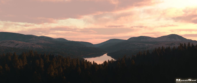 The Long Lake© by Massi-San