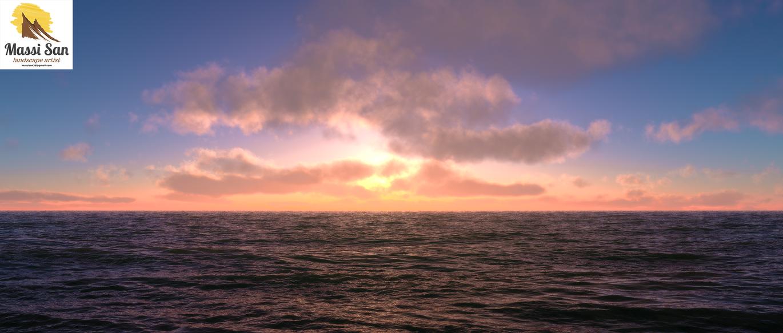 Open Ocean by Massi-San