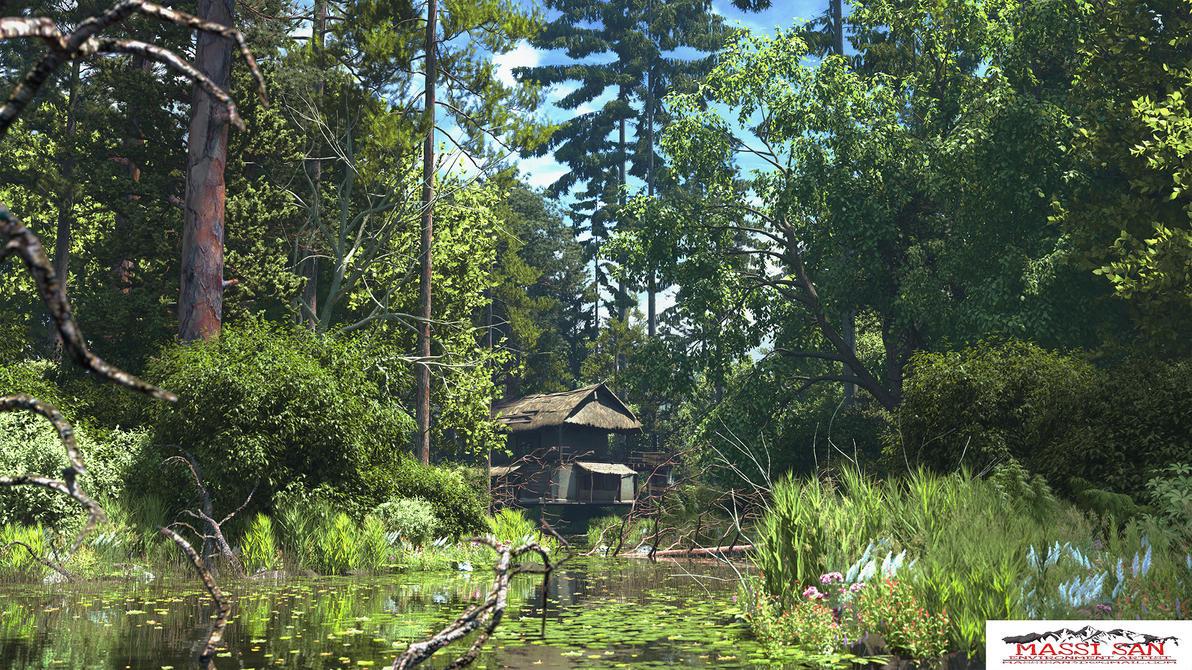 The Woods Da by Massi-San