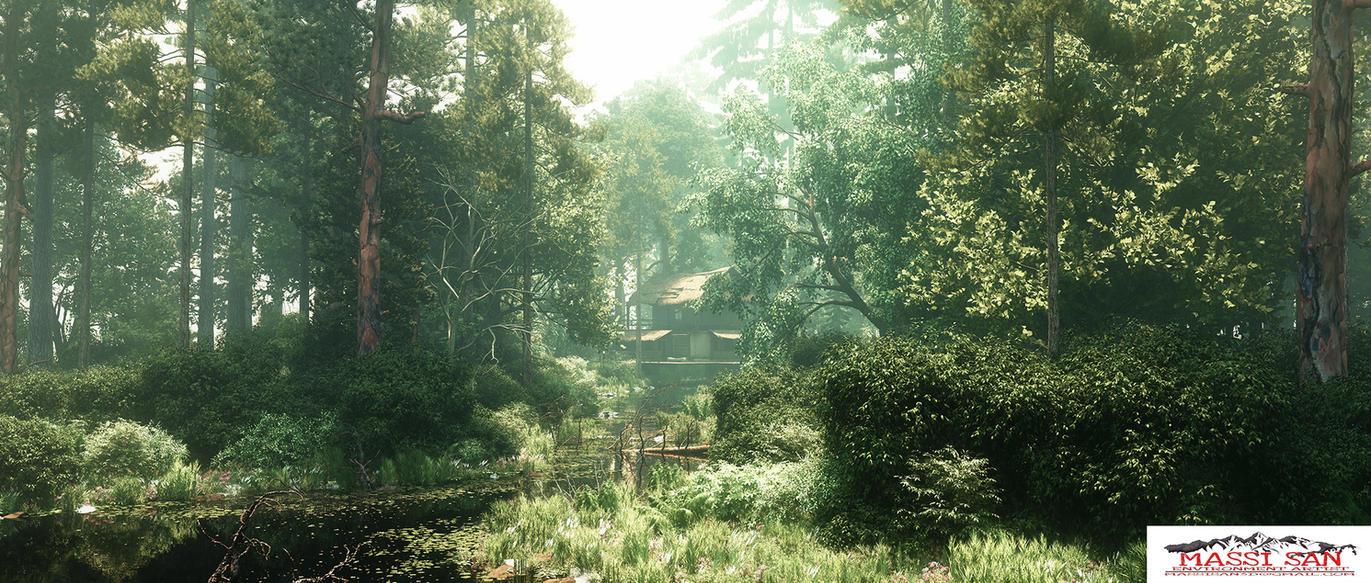 The Woods Moody Da by Massi-San