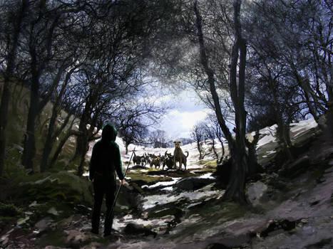 Riddley Walker concept - the far come close