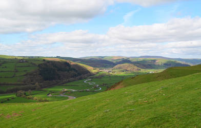 Poppystock - valley on Welsh borders