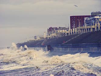 High Seas at Blackpool (stock)
