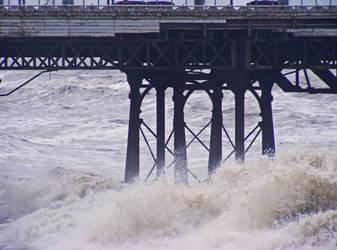 High Seas, Blackpool North Shore pier (stock)