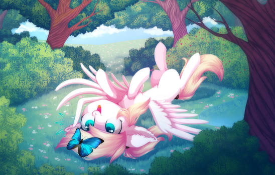 Finished Butterfly YCH