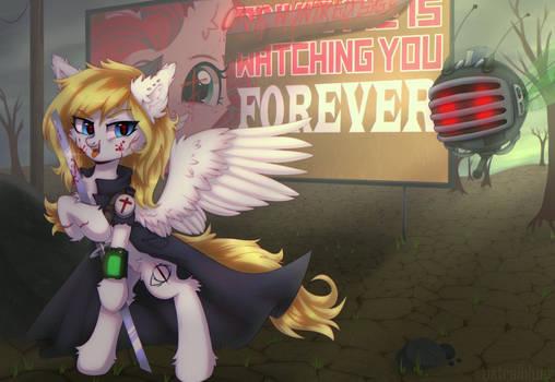 Fallout Equestria featuring Bright Calm