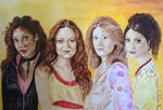 The Women of Firefly by atlantiss505