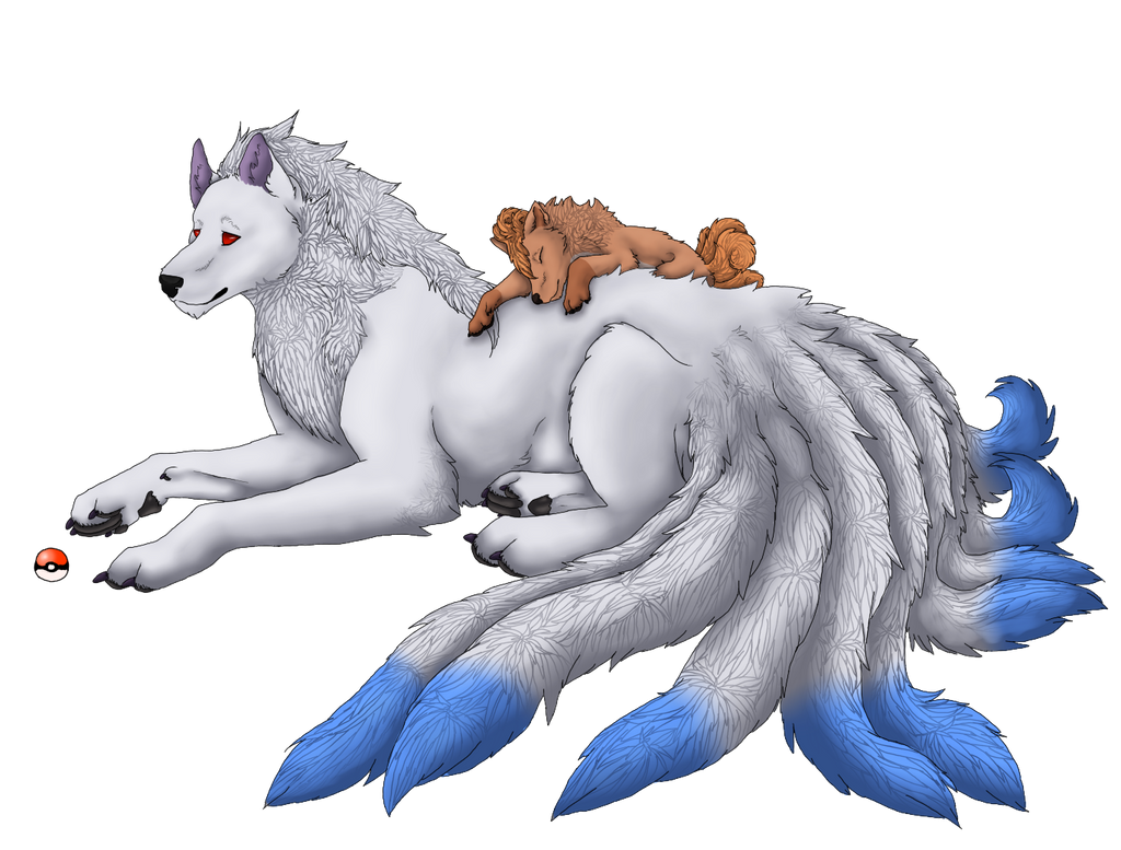 Shiny Vulpix And Shiny Ninetales Ninetales and vulpix byShiny ...