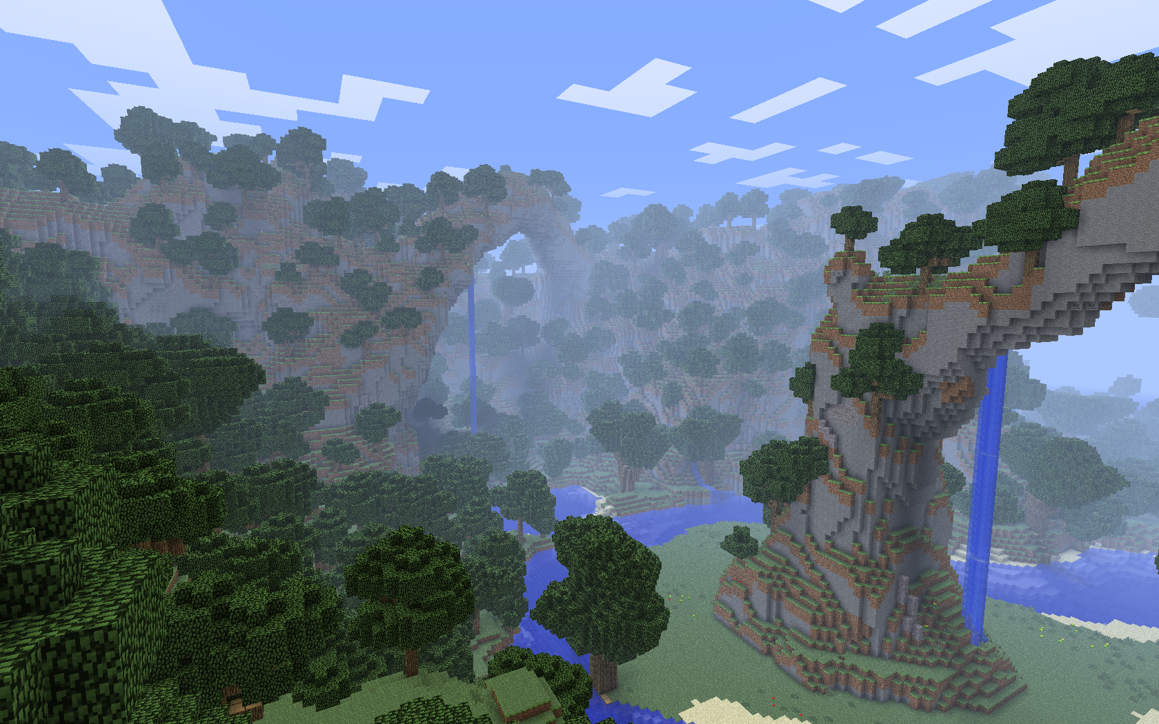 Popular Wallpaper Minecraft Scenery - epic_minecraft_scenery__1680x1050__by_tugtugbug-d5rhban  Snapshot_234124.png
