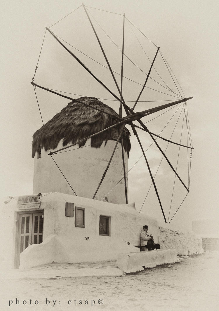 Mykonos WindMill by etsap