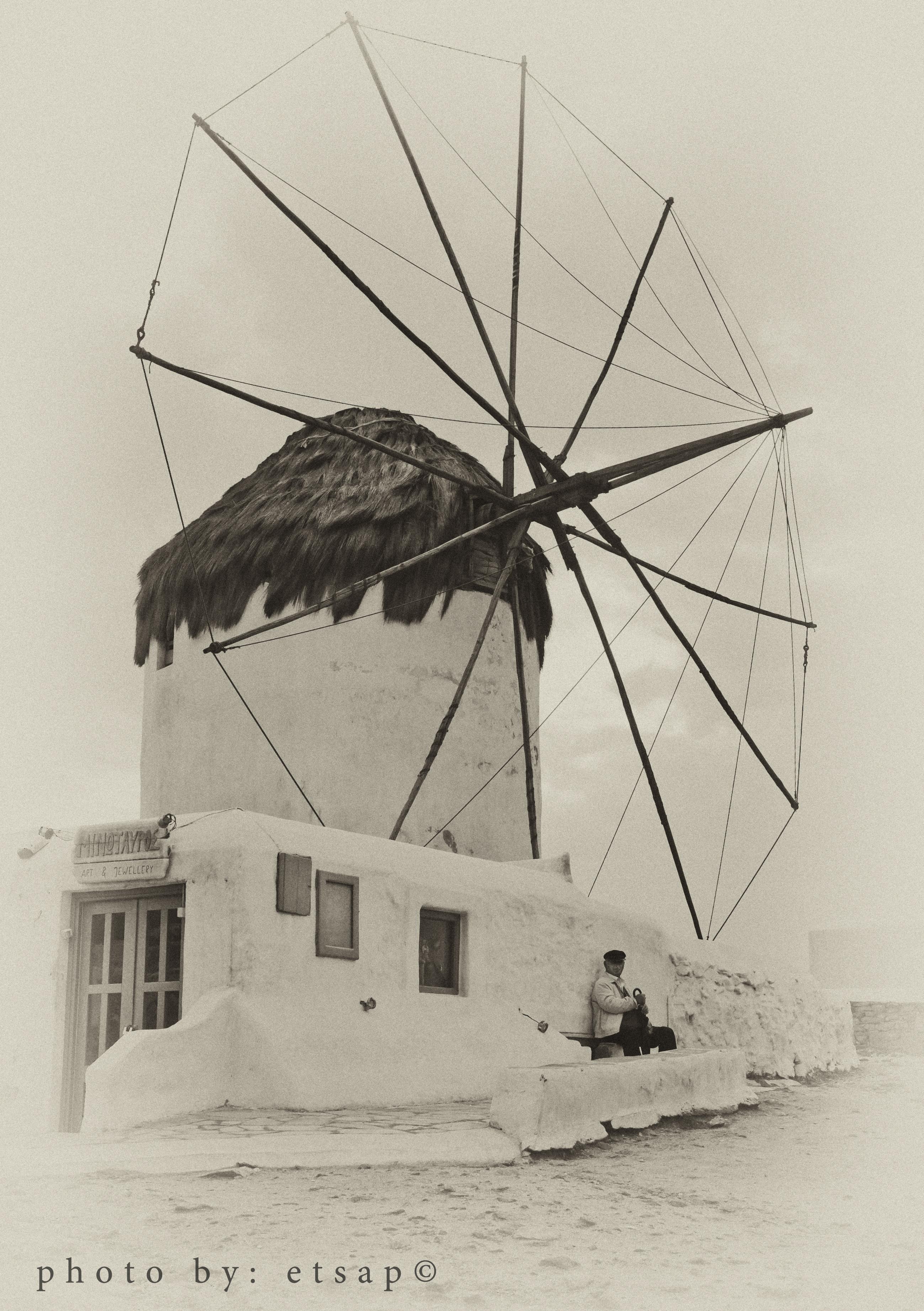 Mykonos WindMill by etsap