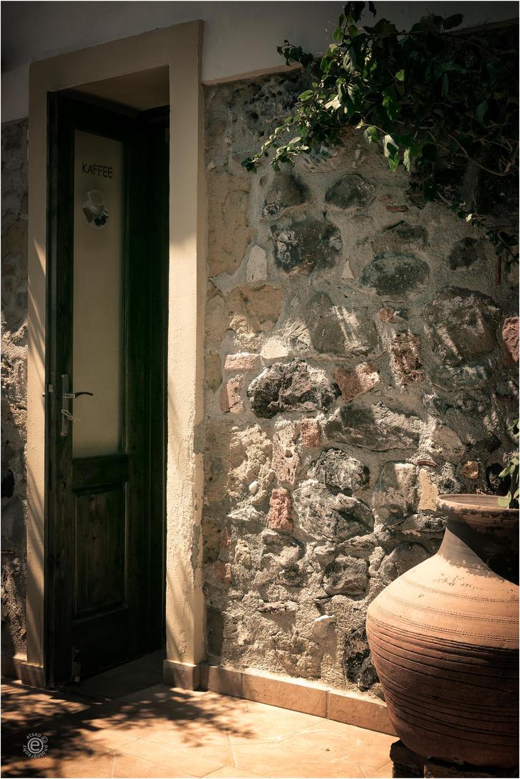 Cafe Door by etsap
