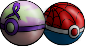 Special Pokeball Designs by GoldenDemonWolf