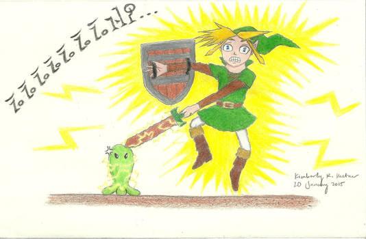 Poor Link: ZZZZZZZAP!!!