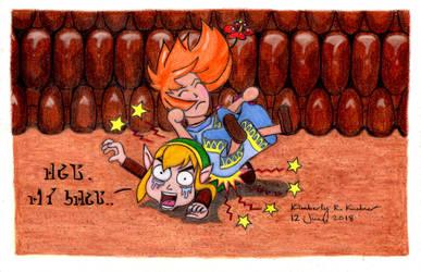 Poor Link: Heads Up!