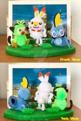 Pom-Pom Pokemon: The Galar Starters