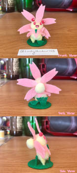 Pom-Pom Pokemon: Cherrim (Sunshine Form)