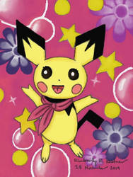 Pichu's Irrepressible Cuteness Is Exploding!