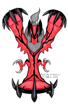 Yveltal, God of Darkness and Death