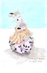Easter Bunny Figurine (Girl)