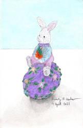 Easter Bunny Figurine (Boy)