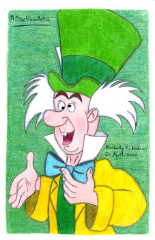 The Mad Hatter (#SixFanArts)