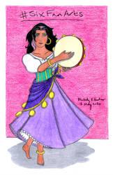 Esmeralda (#SixFanArts)