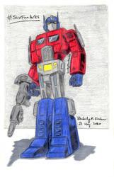 Generation 1 Optimus Prime (#SixFanArts)