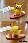 Pom-Pom Pokemon: Surfing Pikachu by LuckyNumber113