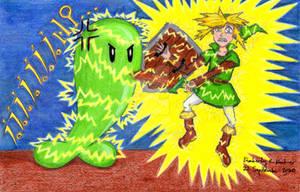 Poor Link: ZZZZZZZAP!!! (REDO)