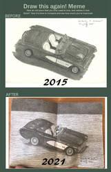 Draw This Again! Meme: Model Car