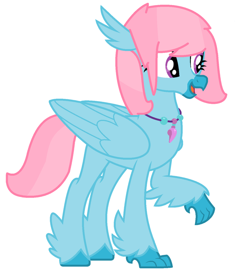 MLP: Blueberry As A Hippogriff by Blueberry-MLP